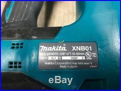 MAKITA 18 V LI-ION XNB01 FINISH NAILER (BARE TOOL) GOOD CONDITION Free Shipping
