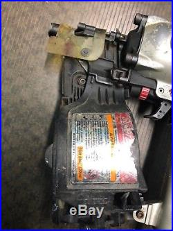 MAX CN565S Air Coil Siding Nailer Nail Gun Tool Used Nice