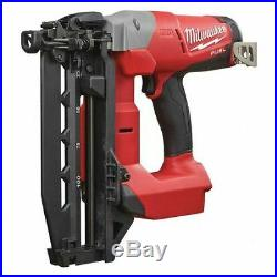 MILWAUKEE 2741-20 M18 FUEL 18V 3/4 to 2-1/2 16-Gauge Straight Finish Nailer