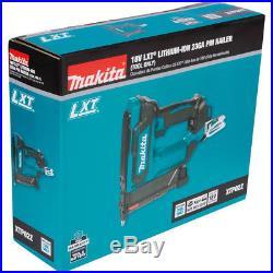 Makita 18V LXT 23 Ga Li-Ion Cordless Pin Nailer XTP02Z New (Bare Tool)