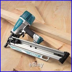Makita Framing Nailer Nail Gun Wall Floor Roof 3-1/2 in. 21 Degree Round Head