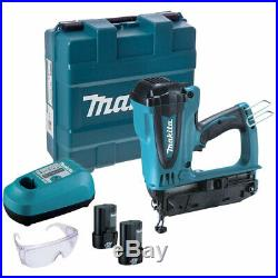 Makita GF600SE 7.2v 2nd Fix Finish Gas Nailer With 2 x Batteries & Carry Case