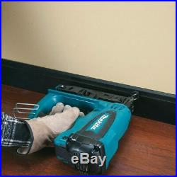 Makita GF600SE Second Fix Gas Nailer 2 x 7.2 V Batteries 7 Charger in Carry Case