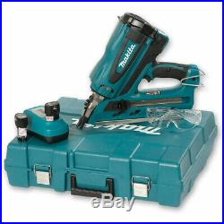 Makita GN900SE 7.2v 1st Fix Framing Gas Nailer with 2 x Batteries in Carry Case