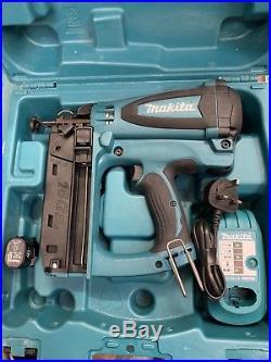 Makita Gf600se Second Fix 7.2v Nail Gun Nailer 16ga Cordless