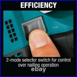 Makita Straight Finish Nailer 18-Volt LED Light 16-Gauge Cordless Depth Control