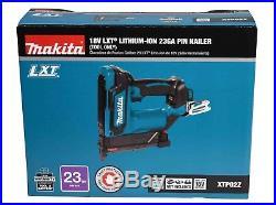 Makita XTP02Z 18V LithiumIon Cordless Nail Gun 13/8 Pin Nailer (Tool Only)