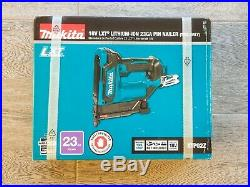 Makita XTP02Z 18-Volt LXT Lithium-Ion 23-Gauge Cordless Pin Nailer (Tool Only)