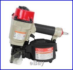 Meite CN55 15 Degree Industrial Coil Nailer Coil Siding Nailer Framing Nail Gun