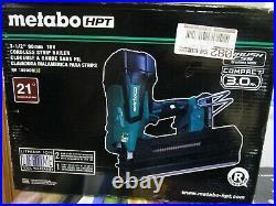 Metabo HPT 21-Degrees 3-1/2 18V Cordless Strip Nailer NR 1890DR(S) BRAND NEW