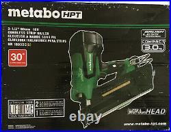 Metabo HPT 30 Ga Cordless 30 deg Framing Nailer Kit 18 volt NR1890DCSM