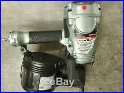 Metabo HPT 3-1/2 in. Coil Framing Nailer NV90AGS nail gun with warranty Nv90agsM