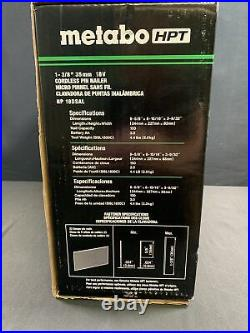 Metabo-HPT NR18DSAL 1 3/8 35mm 18V Cordless Pin Nailer (New) 23ga Hitachi