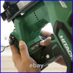 Metabo HPT NT1865DM 18V 3Ah 16Ga 2-1/2 in. Brushless Straight Finish Nailer Kit