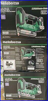 Metabo NP18DSAL HPT 18V Cordless 1-3/8 inch 23-Gauge Pin Nailer Kit (B8055) NEW