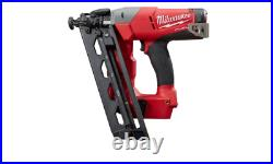 Milwaukee 16-Gauge Angled Finish Nailer M18 FUEL 18-Volt Cordless (TOOL ONLY)