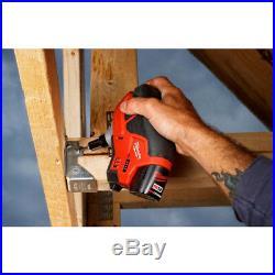 Milwaukee 2458-20 M12 12V Cordless Palm Nailer (Bare Tool)