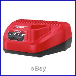 Milwaukee 2458-21 M12 Li-Ion Palm Nailer Kit New