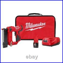 Milwaukee 2540-21 M12 12V 23 Gauge Lightweight Compact Cordless Pin Nailer Kit