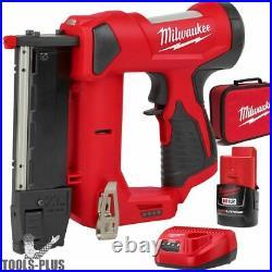 Milwaukee 2540-21 M12 23 Gauge Cordless Pin Nailer with 1.5Ah Battery New