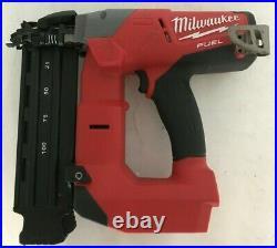 Milwaukee 2740-20 M18 Fuel 18 Gauge Brad Nailer Nail Gun, GR