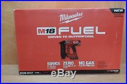 Milwaukee 2740-21CT M18 FUEL Cordless 18-Gauge Brad Nailer Nail Gun Kit