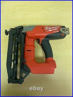 Milwaukee 2741-20 M18 Fuel 16ga Straight Finish Nailer Tool Only