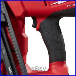 Milwaukee 2742-20 18-Volt 16-Gauge FUEL Angled FInish Nailer Bare Tool