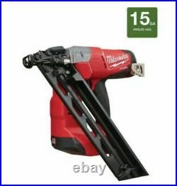 Milwaukee 2743-20 M18 Fuel 18V 15-Gauge Angled Finish Nailer (Tool-Only)