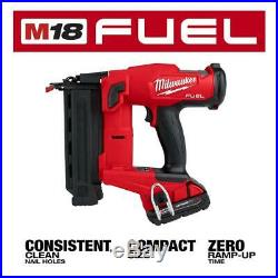 Milwaukee 2746-21CT M18 FUEL 18 Ga. Brad Nailer Kit New