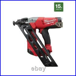 Milwaukee Cordless Finish Nailer M18 FUEL 18-Volt Lithium-Ion (Tool Only)