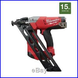 Milwaukee Finishing Nailer 18-Volt Lithium-Ion Cordless 15-Gauge (Tool Only)