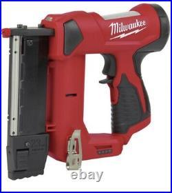 Milwaukee M12 23 Gauge Cordless Pin Nailer, New Tool! Milwaukee Quality