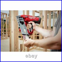 Milwaukee M18FFN-502C 18v Fuel Framing Nailer 2 5.0Ah Batteries and Charger Case