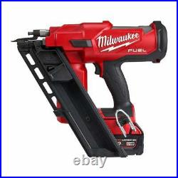 Milwaukee M18FFN-502C 18v Fuel Framing Nailer With 2 5.0Ah Batteries and Charger