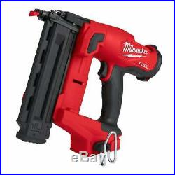 Milwaukee M18FN18GS-0X 18v 2nd Fix Nailer Fuel 18 Gauge Finish Nailer Body Only