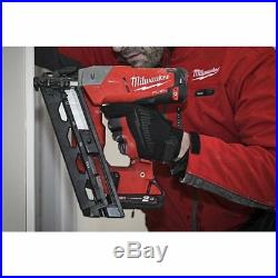 Milwaukee M18 CN16GA-0 Fuel Battery Nailer, without and Charger, 4933451958