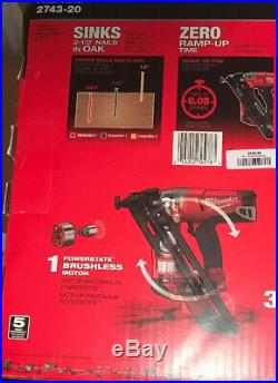 Milwaukee M18 FUEL 15 Ga Brushless Finish Nailer 2743-20
