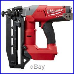 Milwaukee M18 FUEL 16G Brushless Straight Finish Nailer Kit 2741-21CT New