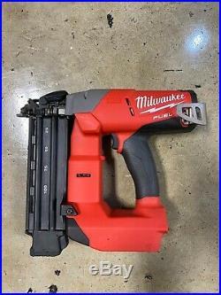 Milwaukee M18 FUEL 18G Brushless Brad Nailer (BT) 2740-20 VERY GOOD