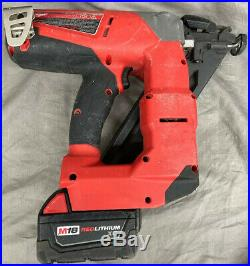 Milwaukee M18 FUEL 2743-20 15ga 18V Finish Nailer With Battery Only- Free Ship