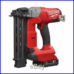 Milwaukee M18cn18gs-202x M18 Fuel 18 Ga Brad Nail Finish Nailer Kit 4933451574