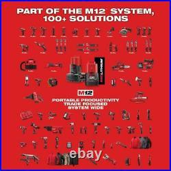 Milwaukee Palm Nailer Hand Bare Cordless Tool Nail Gun House 2458-20 M12 12-Volt