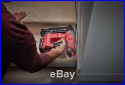 Milwaukee Straight Finish Nailer Nail Gun Cordless 18V 16-Gauge (Tool Only)
