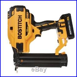 NEW BOSTITCH DCN680D1 20V MAX 2.0 Ah Li-Ion 18Ga Brad Nailer Kit NEW 8307464