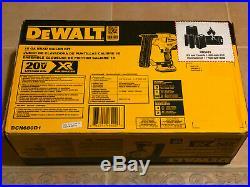 NEW DEWALT 20-Volt Max Lithium-Ion 18-Gauge Cordless Brad Nailer Kit DCN680D1