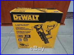 NEW DeWALT DCN21PLM1 20-Volt MAX Cordless Framing Nailer Kit Nail Gun