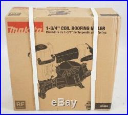 NEW Makita AN454 1-3/4 Coil Roofing Nail Gun Air Nailer Sealed 120-Psi Adjust