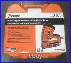 NEW Paslode IM250A-Li 16 Ga Angled Cordless Li-ion Finish Nailer Kit 902400