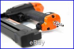 Nail Gun 4in1 Pneumatic Flooring Nailer Stapler 18-Gauge Lightweight Power Tool